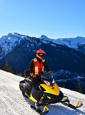 Snow Mobiling